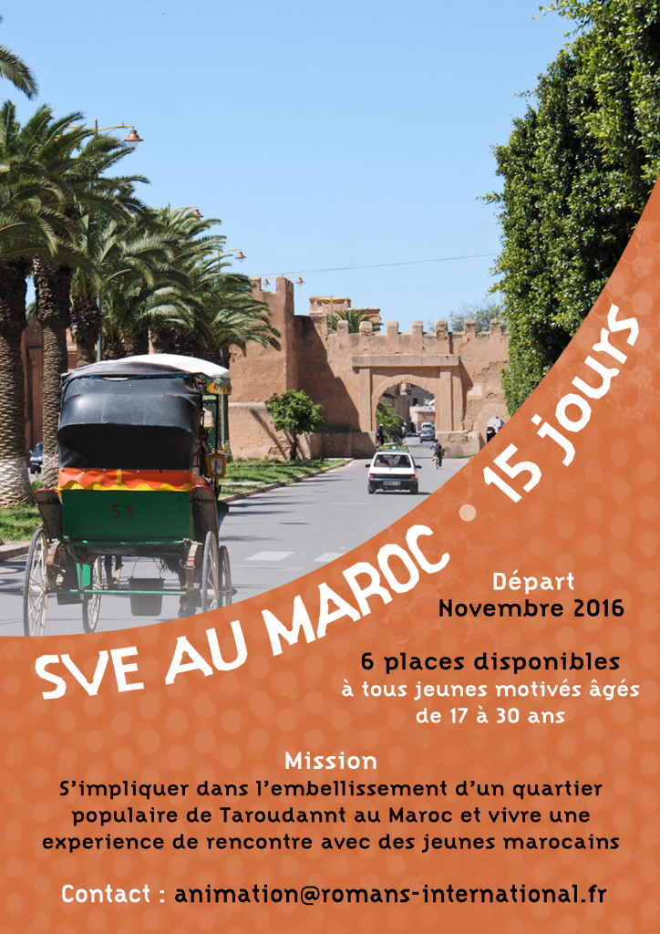 Romans International - Sve 15jours Maroc